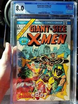 Giant-Size X-Men #1 (July 1975, Marvel) CGC 8.0