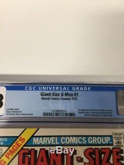 Giant-size X-men 1 Cgc 9.8 White Pages Perfect Centering Gem Copy