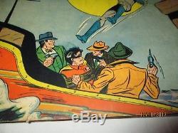 Golden Age Detective Comics 43 Batman Robin Bondage