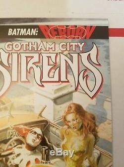 Gotham City Sirens #1 (2009) 125 Rare Variant DC Harley Ivy Catwoman NEAR MINT