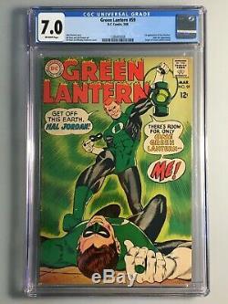 Green Lantern 59 CGC 7.0 1st Guy Gardner Origin Retold KEY Book