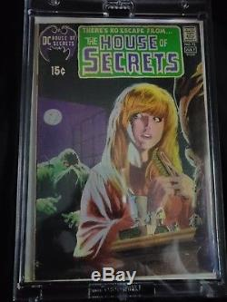 HOUSE OF SECRETS #92 Phantom Stranger #14 Swamp Thing original series #1 #24