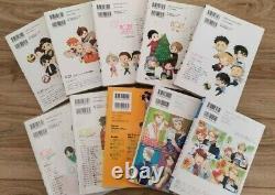 HQBF + Kareshi series Haikyu Anthology Comic HQ Boyfriend 10 books set kageyama