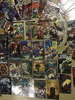 HUGE Batman comic book lot, vintage toy and poster collection $$ NO RESERVE $$