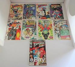 HUGE Lot of 50+ Comic Books Marvel & DC Comics with Batman Superman Green Lantern
