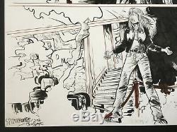 HUGE Paul Pope SPIDER-MAN Original Art Marvel Comics, 2002 + Bonus pencils