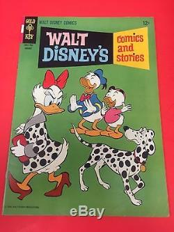 HUGE RUN (183 issues) WALT DISNEY'S COMICS AND STORIES # 299 507 + Whitmans