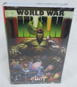 HULK World War Hulk Omnibus Greg Pak Marvel Comics Brand New Factory Sealed $125
