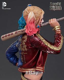 Harley Quinn Margot Robbie Suicide Squad DC Comics Statue