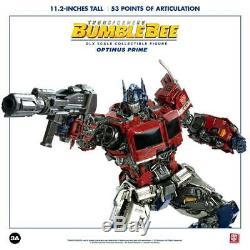Hasbro x ThreeA Transformers BUMBLEBEE DLX Scale OPTIMUS PRIME Convoy Figure 3A