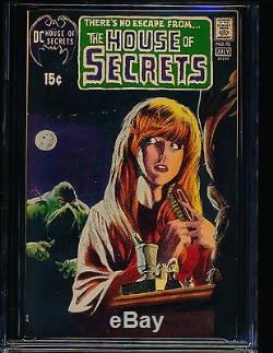 House of Secrets # 92 1st Swamp Thing & Wrightson cover CGC 9.4 WHITE Pgs