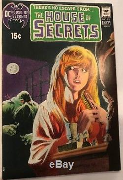 House of Secrets #92 HIGH GRADE 1st app of Swamp Thing! KEY ISSUE! L@@K
