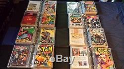 Huge Comic Book Lot 1300 comics/ 100 Hard Cover Books/ Binders, Pages, inserts