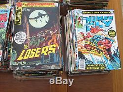 Huge Comic Book Lot 700+ Books Marvel & DC Silver & Bronze Nice Shape