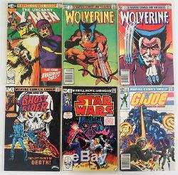 Huge Comic Collection Lot Marvel DC High Grade X-Men Spider-Man Copper Age 7K+