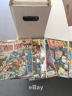 Huge Lot Of Comic Books In Plastic Over 1600