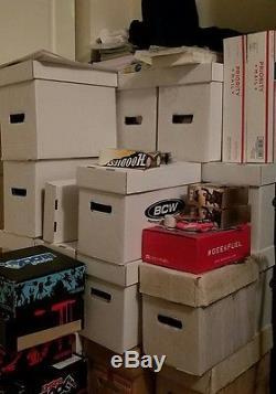 Huge lot of comic books! 20 short boxes