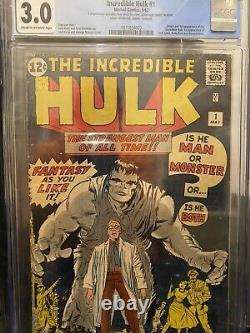 Hulk #1 3.0 CGC Conserved
