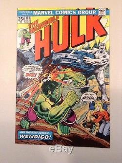Hulk #180 181 182 1st app Wolverine Run