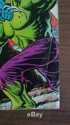 Hulk # 181 First Wolverine midgrade 5.5/6.0 with Marvel Stamp