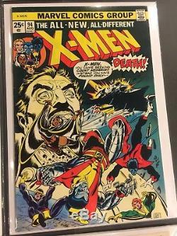 Hulk 181 Giant Size X-Men 1, 94 Spiderman 129 Marvel Spotlight 5, Iron Fist 14