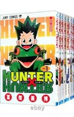 Hunter x Hunter Japanese Language Vol. 1-36 set Manga Comics Togashi Yoshihiro