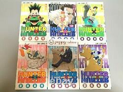 Hunter x Hunter vol. 1-36 Japanese language Comics set book manga