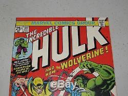 INCREDIBLE HULK #181 (1st app. Wolverine)