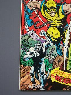 INCREDIBLE HULK #181 MVS, Wolverine Key Issue, Non-restored CGC 8.5+