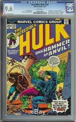 Incredible Hulk #182 Cgc 9.6 White Pages ID 5426