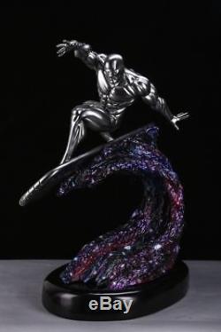 In Stock Private Custom Silver Surfer Fantastic Four 1/4 Scale Ploystone Statue