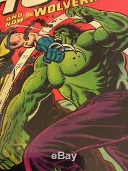 Incredible Hulk #181 1st appearance Wolverine CGC 4.5 Key Marvel Comic Book Hero