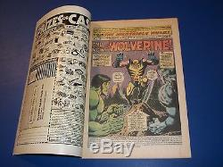 Incredible Hulk #181 Bronze Age FVF Gem 1st Wolverine Enormous Key Wow withMVS