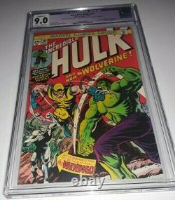 Incredible Hulk #181 CGC 9.0 1st Wolverine