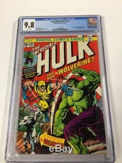 Incredible Hulk 181 Cgc 9.8 White Pages Perfect Centering Gem Copy
