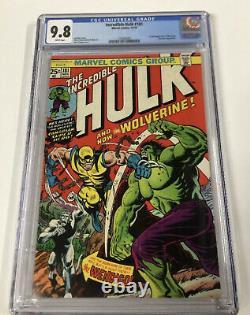 Incredible Hulk 181 + Giant-size X-men 1 Cgc 9.8 WP Perfect Centering Gems
