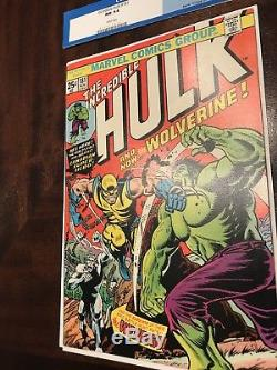Incredible Hulk 181 Wolverine Old Man Logan 9.4 CGC 9.6 Raw No Reserve