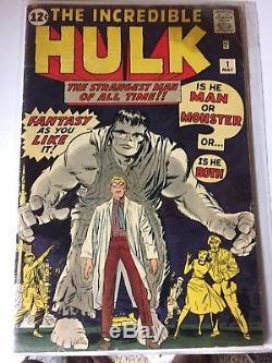 Incredible hulk comic 1 1962