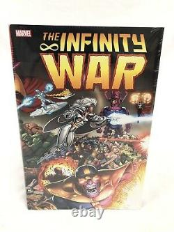 Infinity War Omnibus Magus Thanos Avengers Marvel New Factory Sealed $125