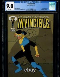 Invincible #1 2 3 4 5-144 Robert Kirkman Image COMPLETE RUN CGC All First Print
