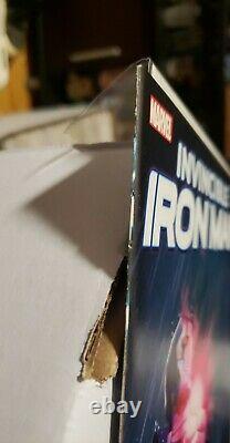 Invincible Iron Man #9 Turcotte Variant cover 1st Riri Williams Iron Heart