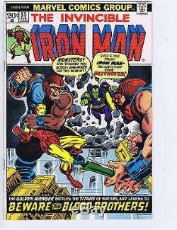 Iron Man #55 Marvel 1973