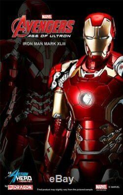 Iron Man MK. 43 Avengers Age of Ultron Standfigur 1/9 Marvel Dragon 38145