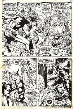 JACK KIRBY & BILL EVERETT THOR #170 Original Marvel Comic Silver Age Art 1969