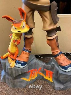 Jak & Daxter II Rare Life Size Statue NEW In-Stock