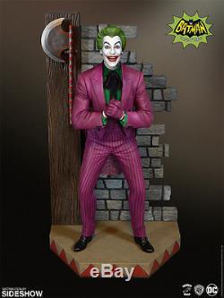 Joker Maquette Tweeterhead Batman 1966 TV Series Cesar Romero Statue Sideshow 66