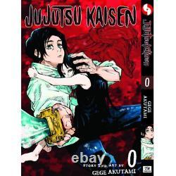 Jujutsu Kaisen Gege Akutami Volume 0-10 Manga Comic Book Set English Expedite