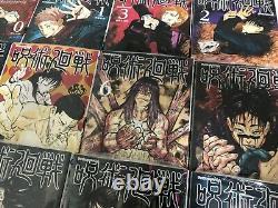 Jujutsu Kaisen japanese manga book Vol 0 to 16 comic 17 set Gege Akutami anime