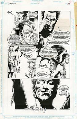KELLEY JONES Sandman #22 p11 ORIGINAL COMIC ART Neil Gaiman LUCIFER