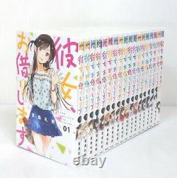 Kanojo Okarishimasu Rent A Girlfriend vol. 1-18 Manga Comic Japanese Language New